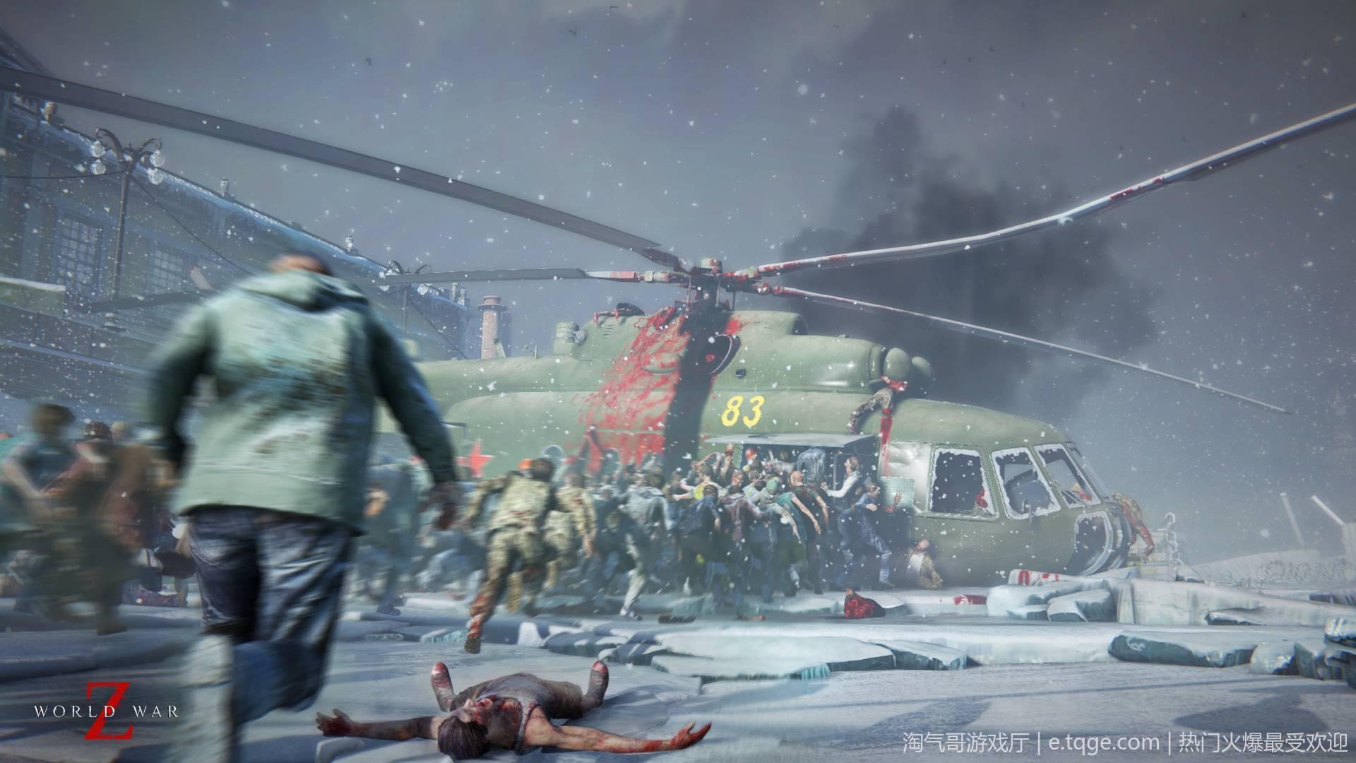 僵尸世界大战 射击游戏 第2张