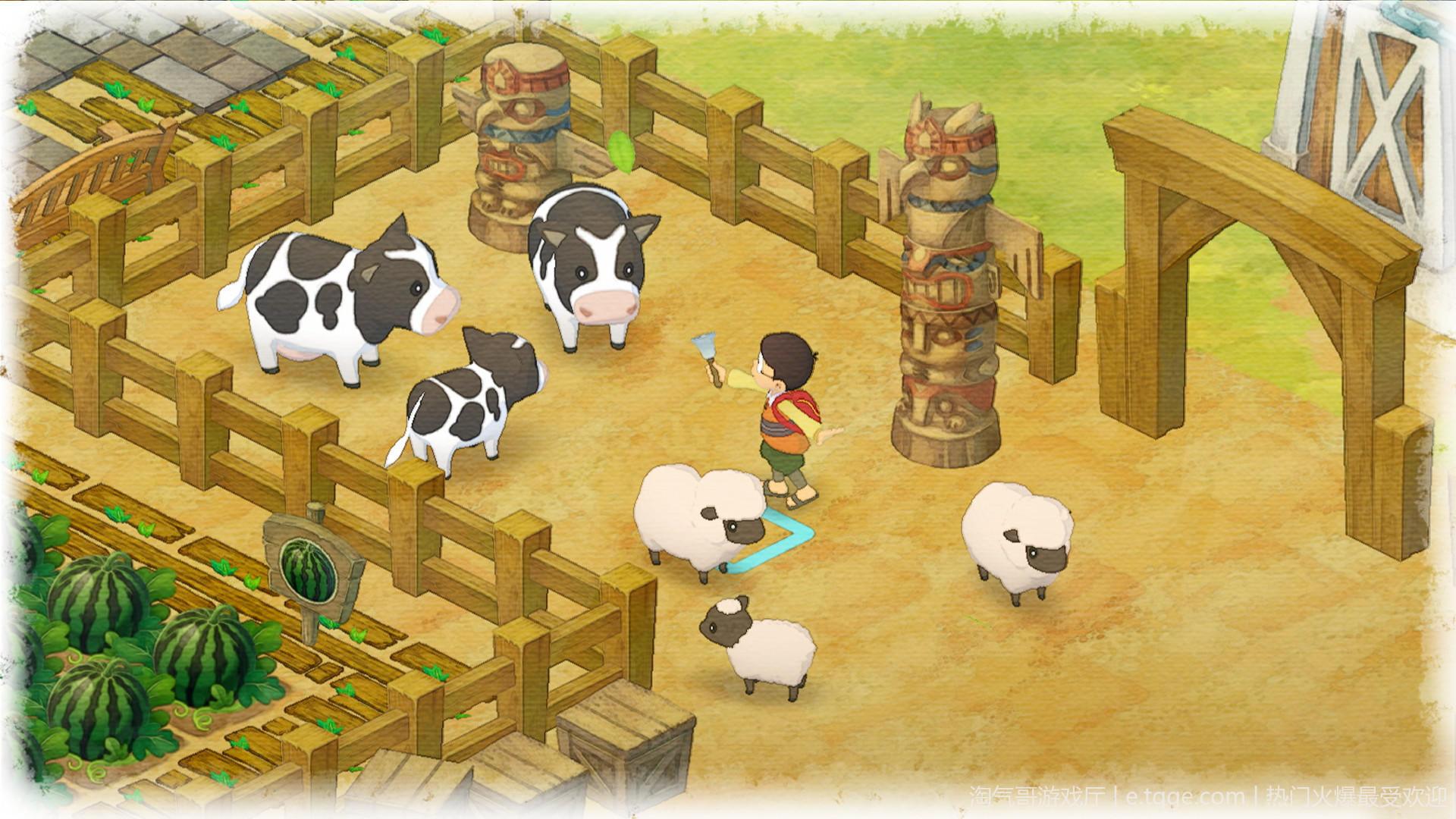 哆啦A梦:牧场物语 动作冒险 第2张