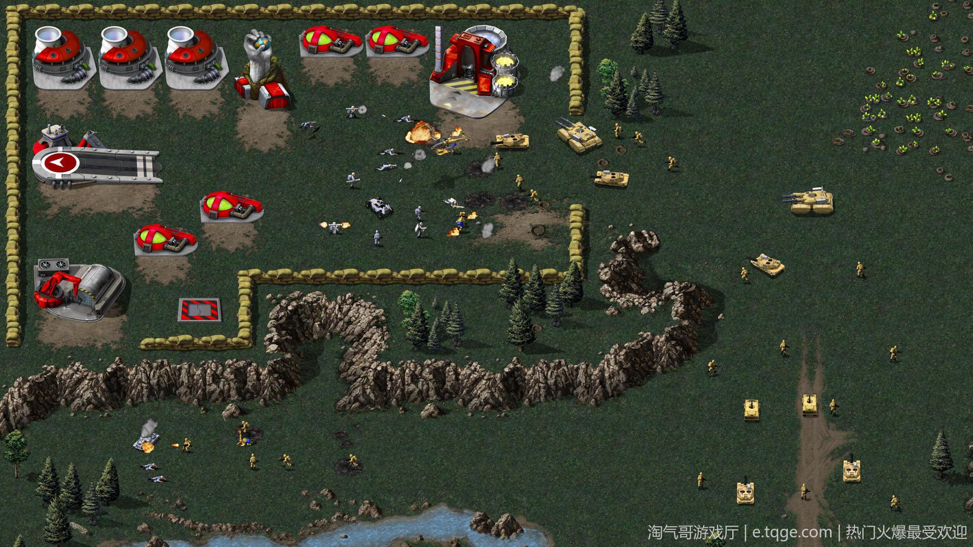 红色警戒 命令与征服重置版 热门游戏 第4张