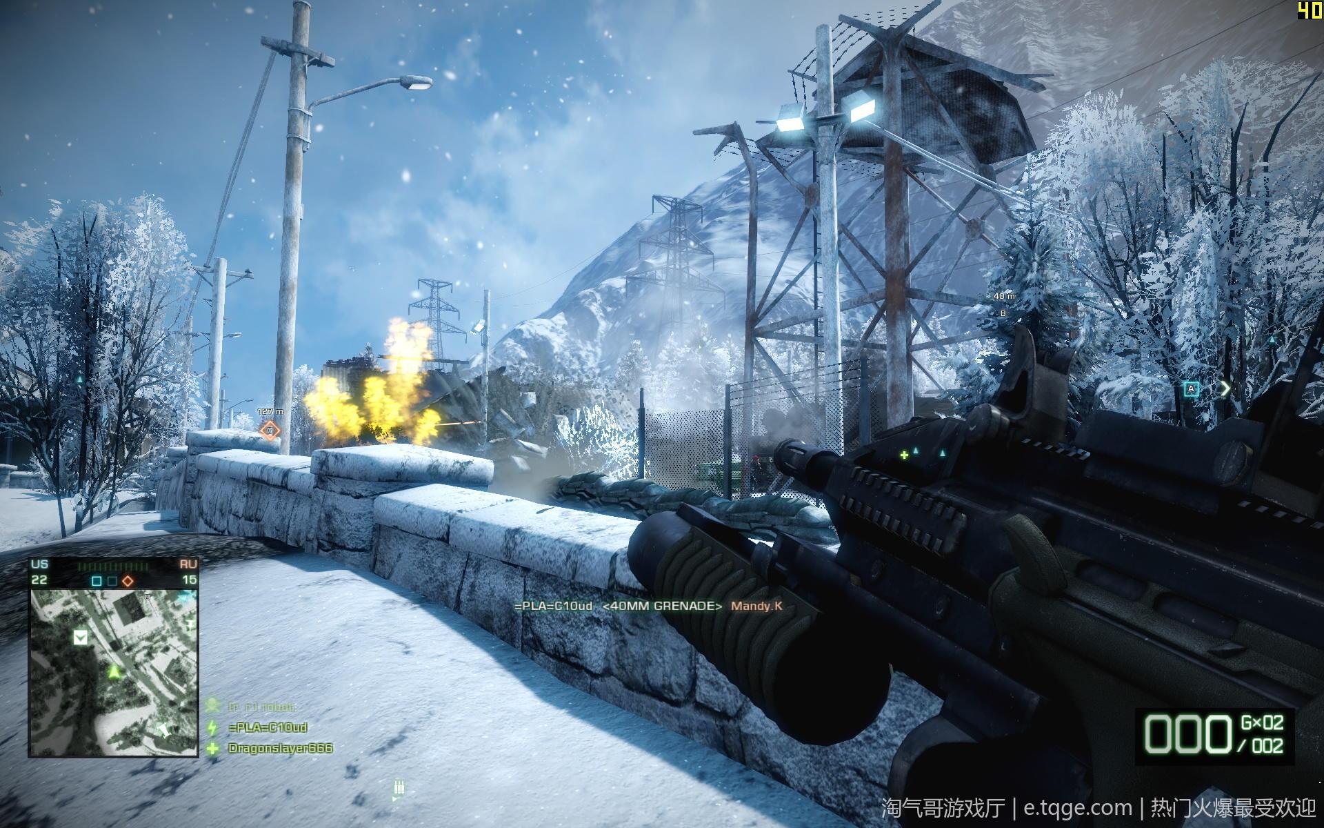战地:叛逆连队2 射击游戏 第1张