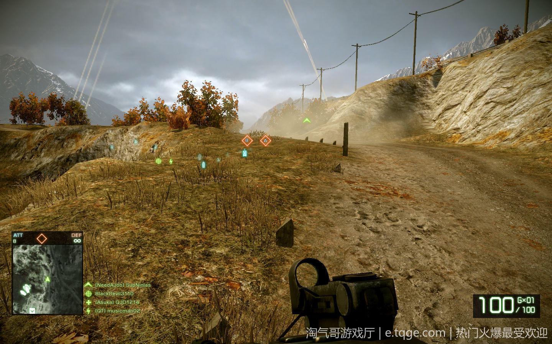 战地:叛逆连队2 射击游戏 第3张