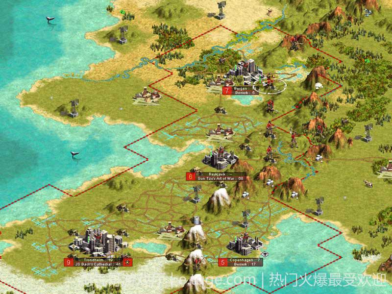 文明3 热门游戏 第3张