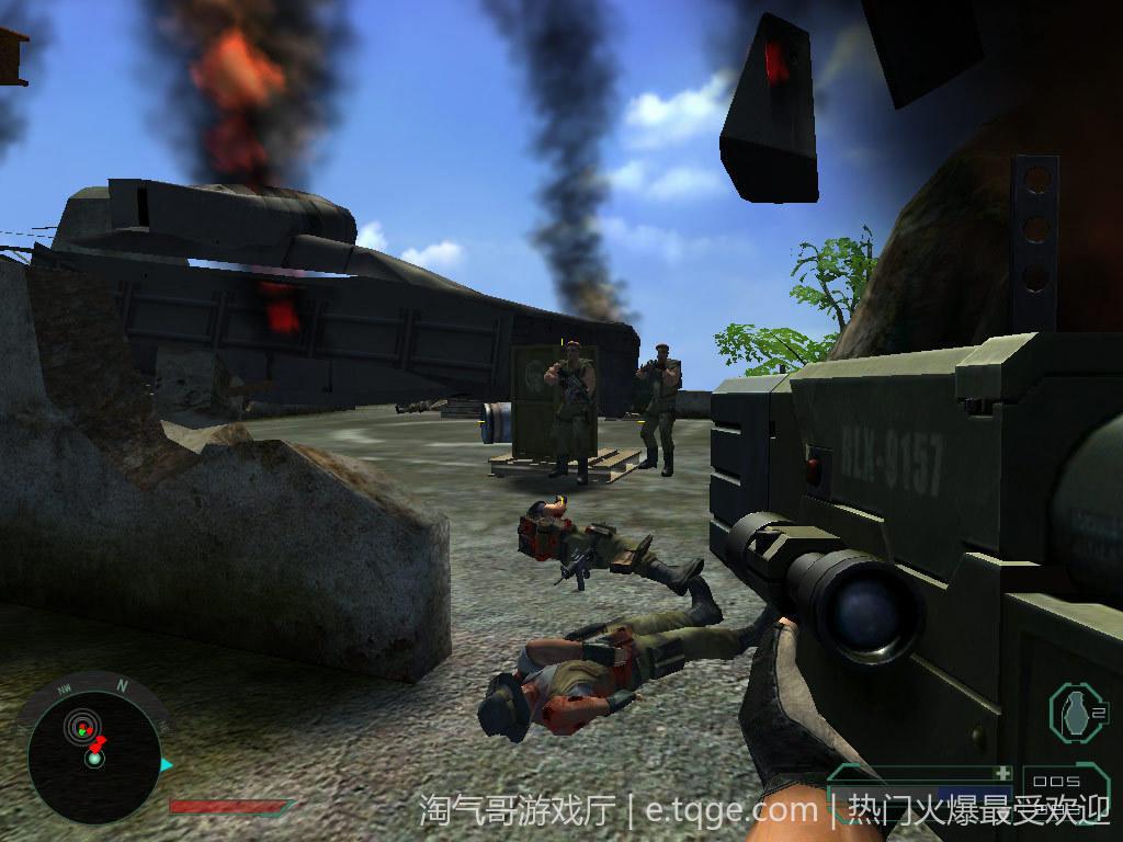 孤岛惊魂1 射击游戏 第3张