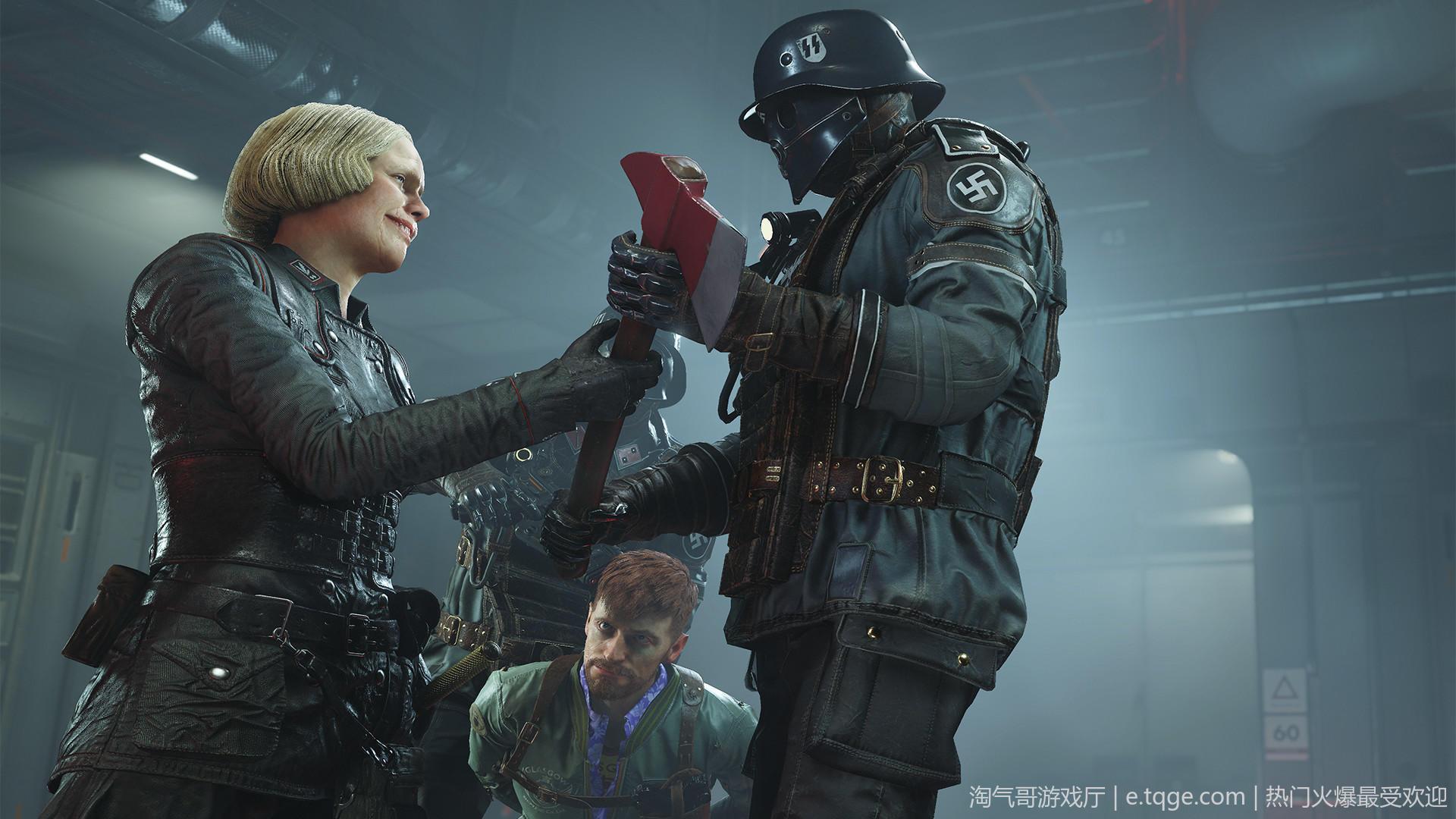 德军总部2:新巨像/新巨人【赠+1代+旧血脉+新序章】 射击游戏 第1张