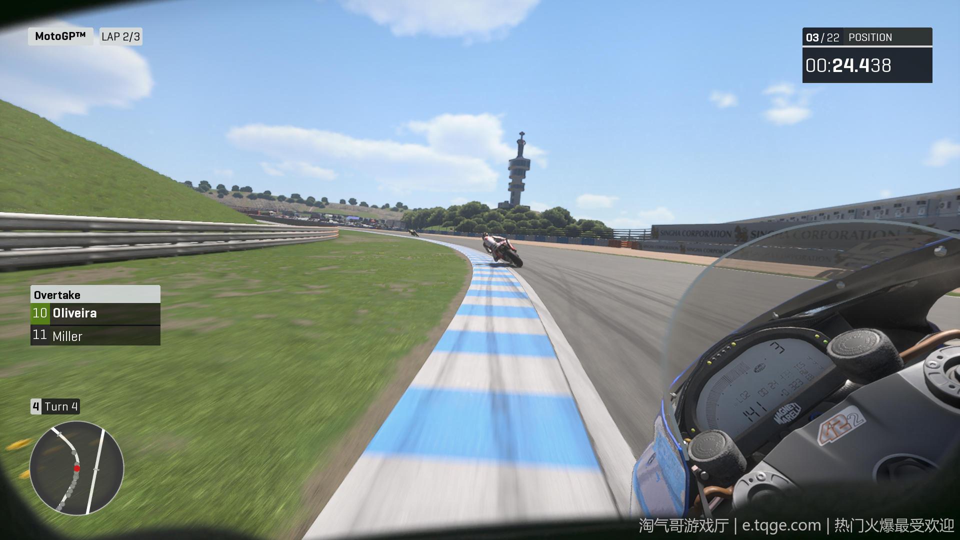 世界摩托大奖赛20/摩托GP20 热门游戏 第5张