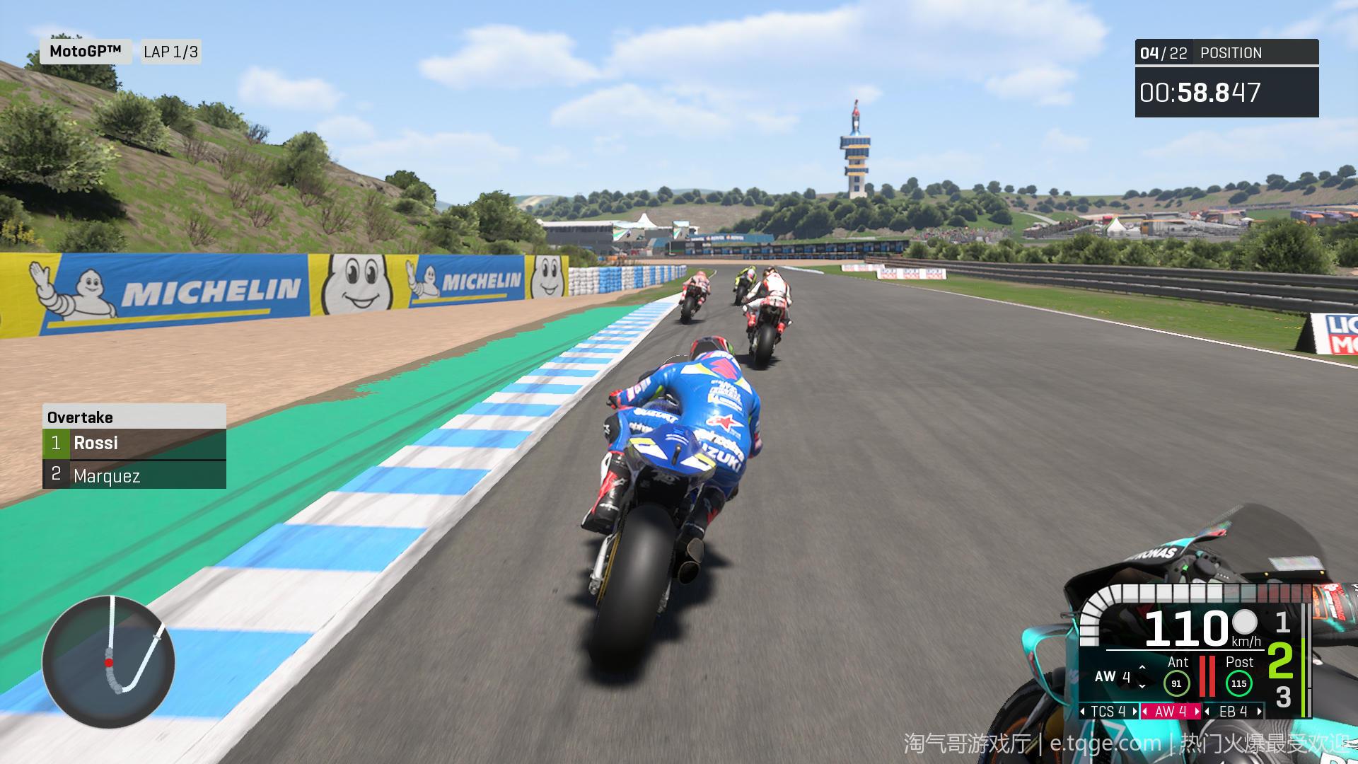 世界摩托大奖赛20/摩托GP20 热门游戏 第7张
