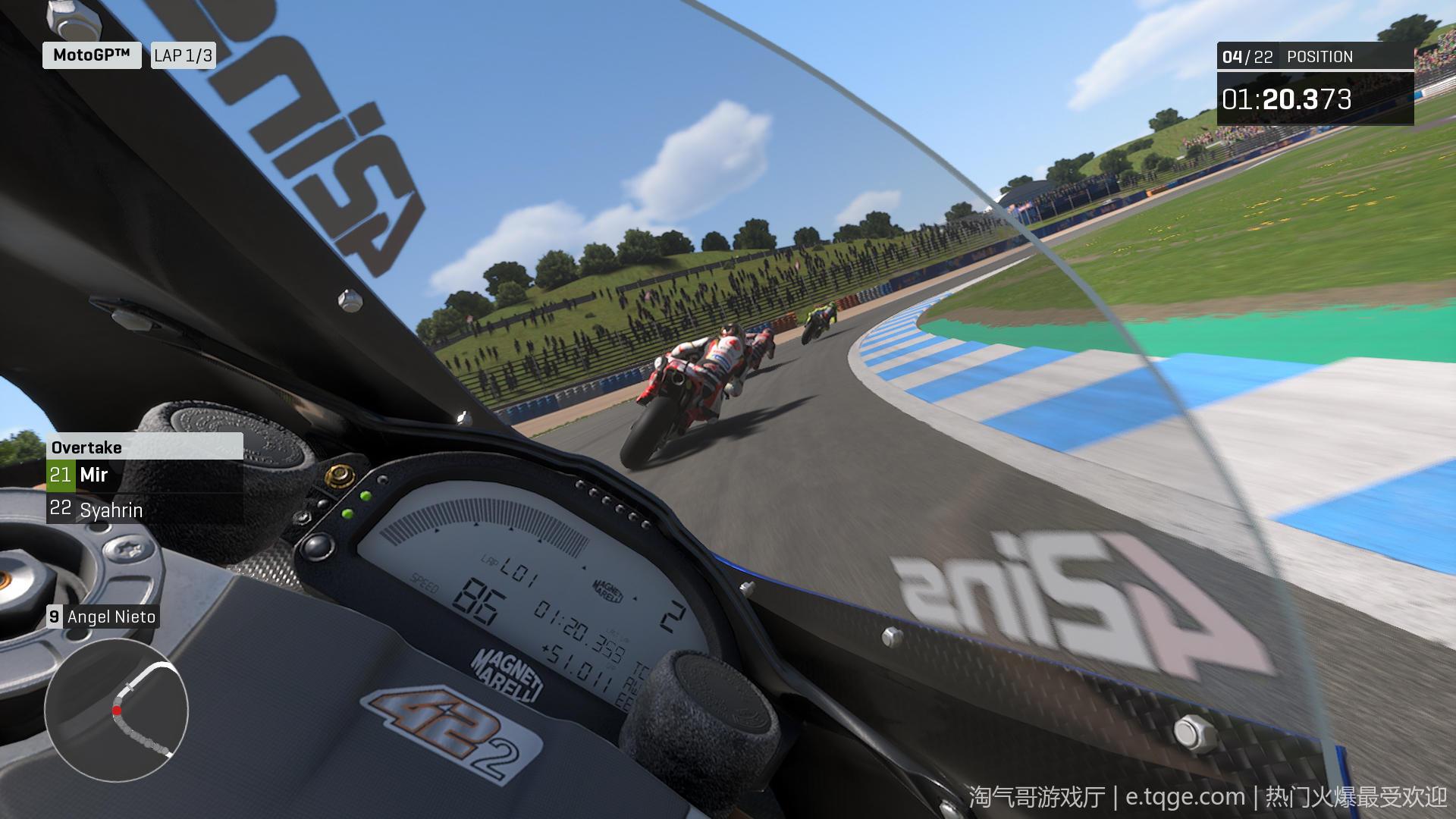 世界摩托大奖赛20/摩托GP20 热门游戏 第8张