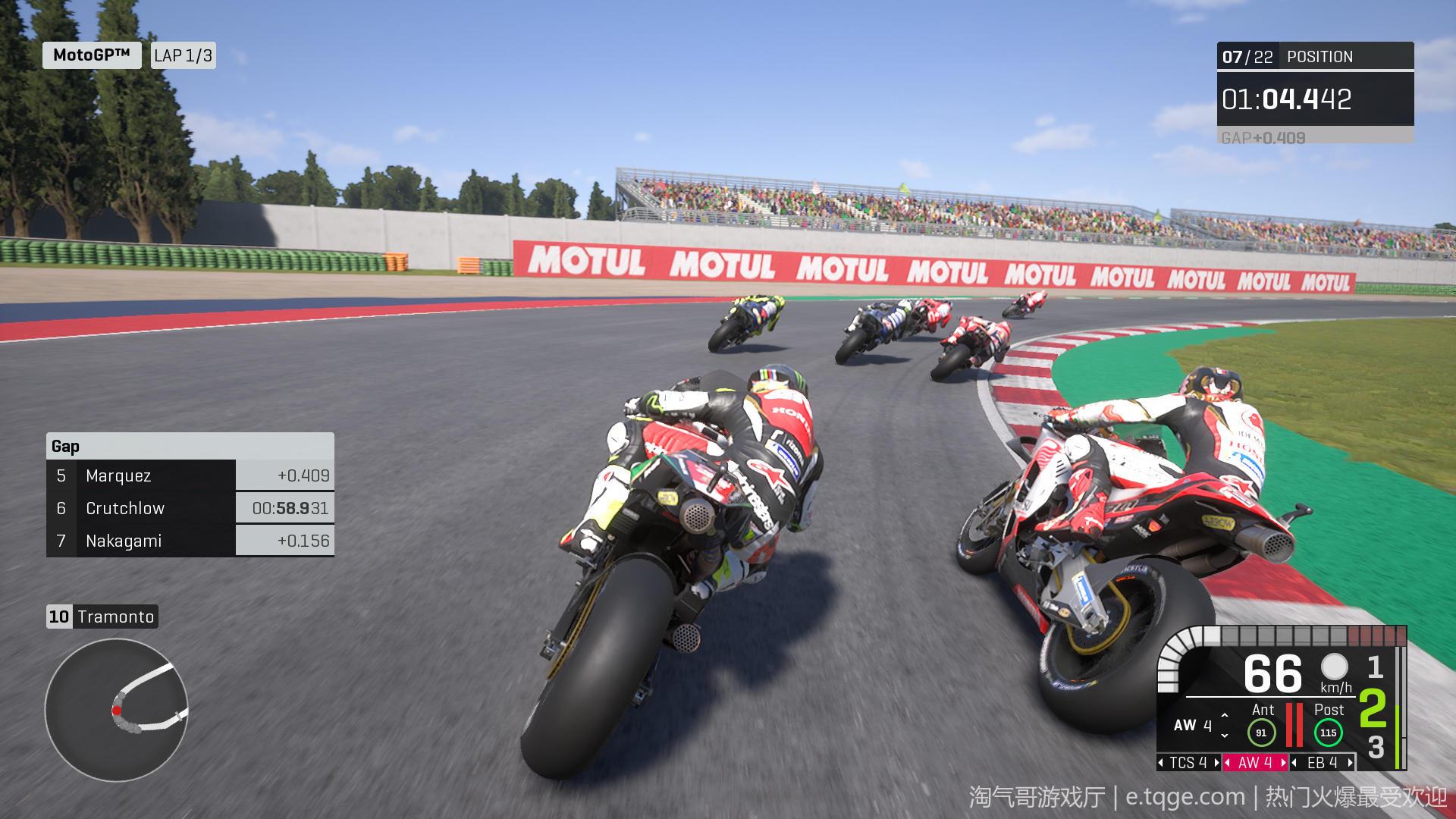 世界摩托大奖赛20/摩托GP20 热门游戏 第9张