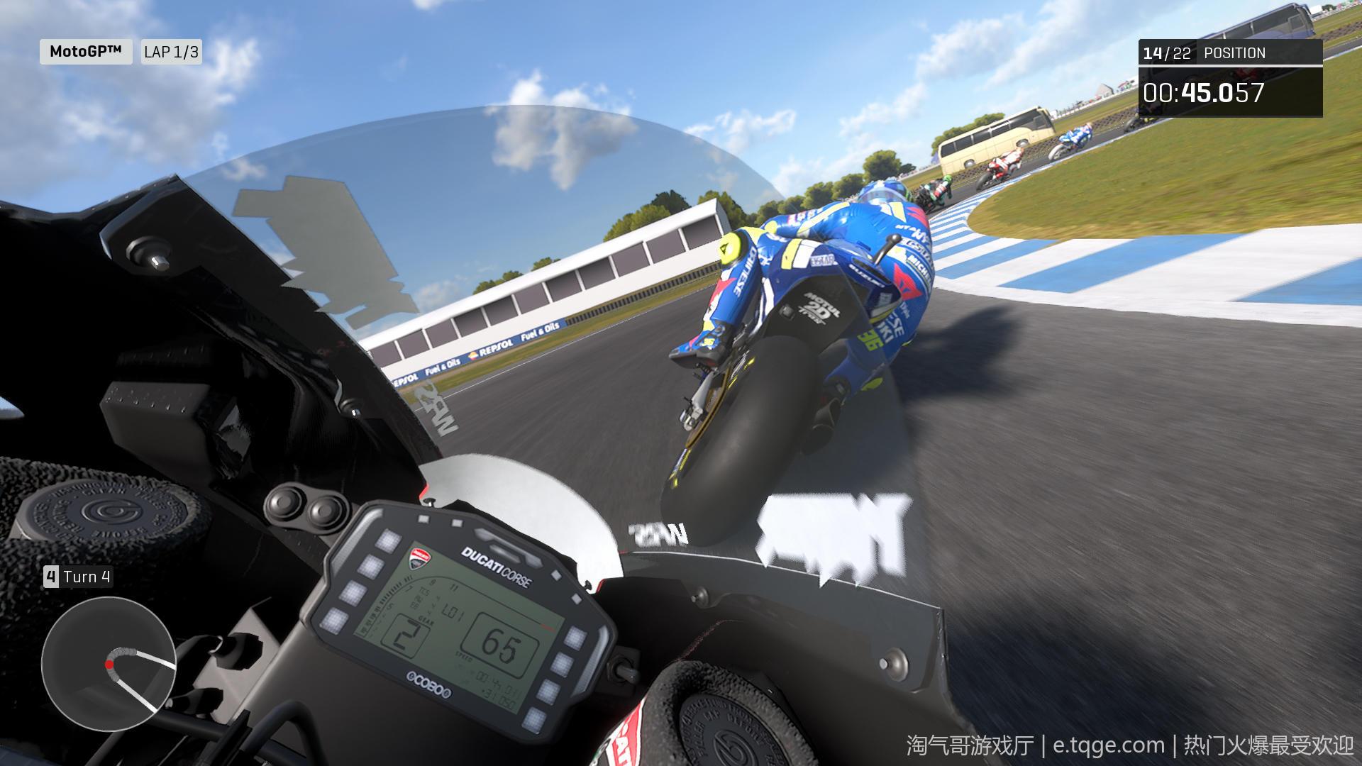 世界摩托大奖赛20/摩托GP20 热门游戏 第10张