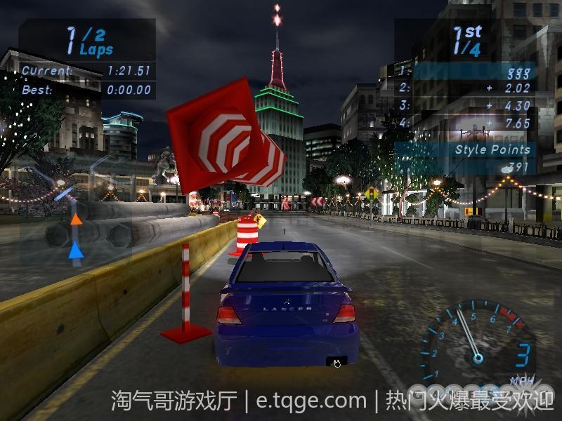 极品飞车7:地下狂飙 热门游戏 第2张