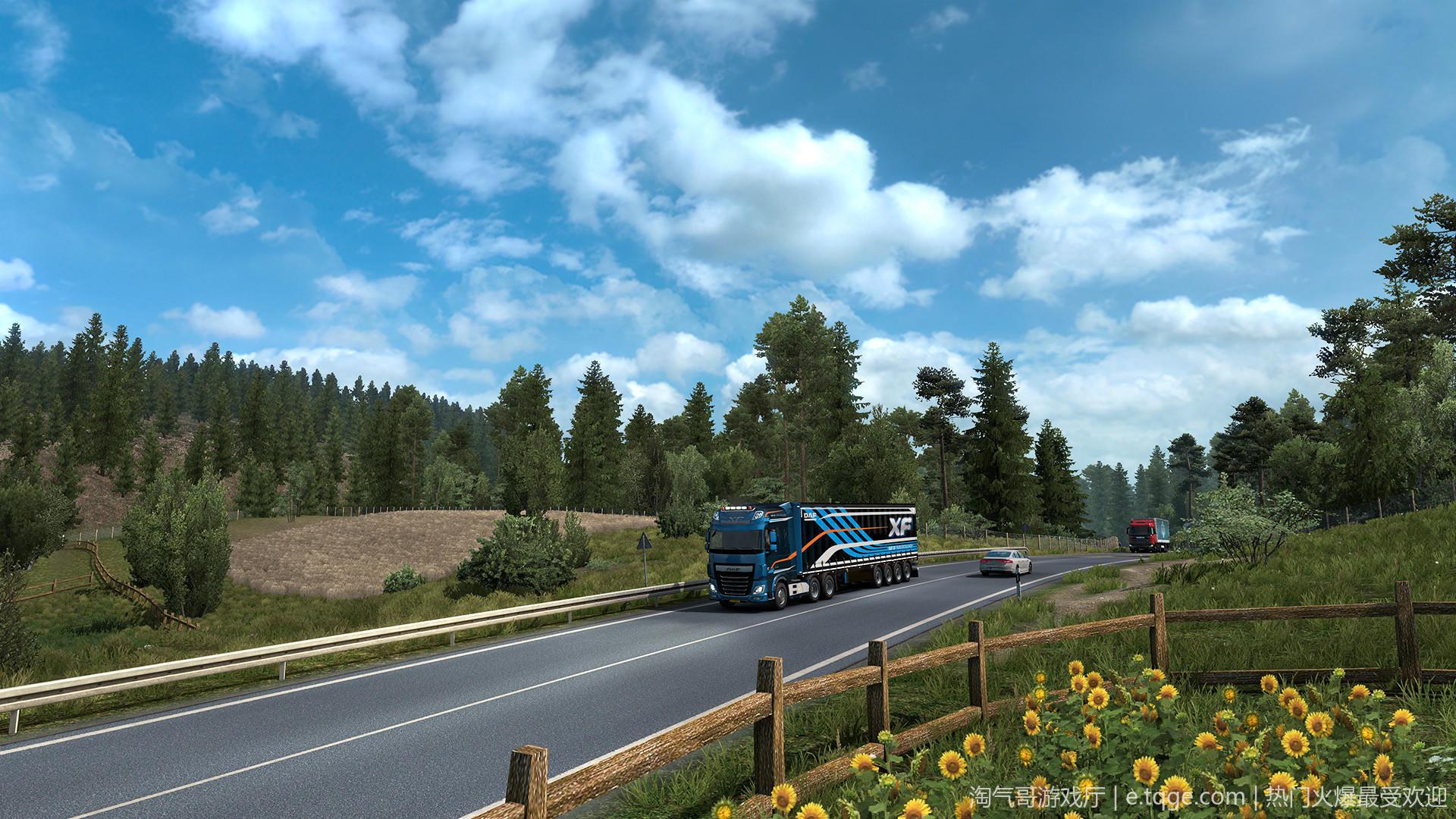 遨游中国2 v1.20稳定版/欧洲模拟卡车2/CTS6 热门游戏 第2张