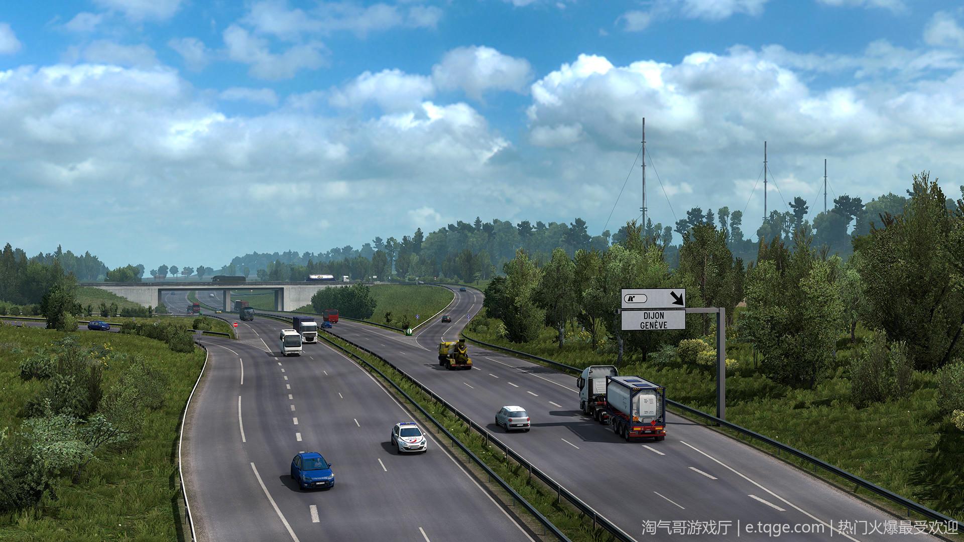 遨游中国2 v1.20稳定版/欧洲模拟卡车2/CTS6 热门游戏 第6张