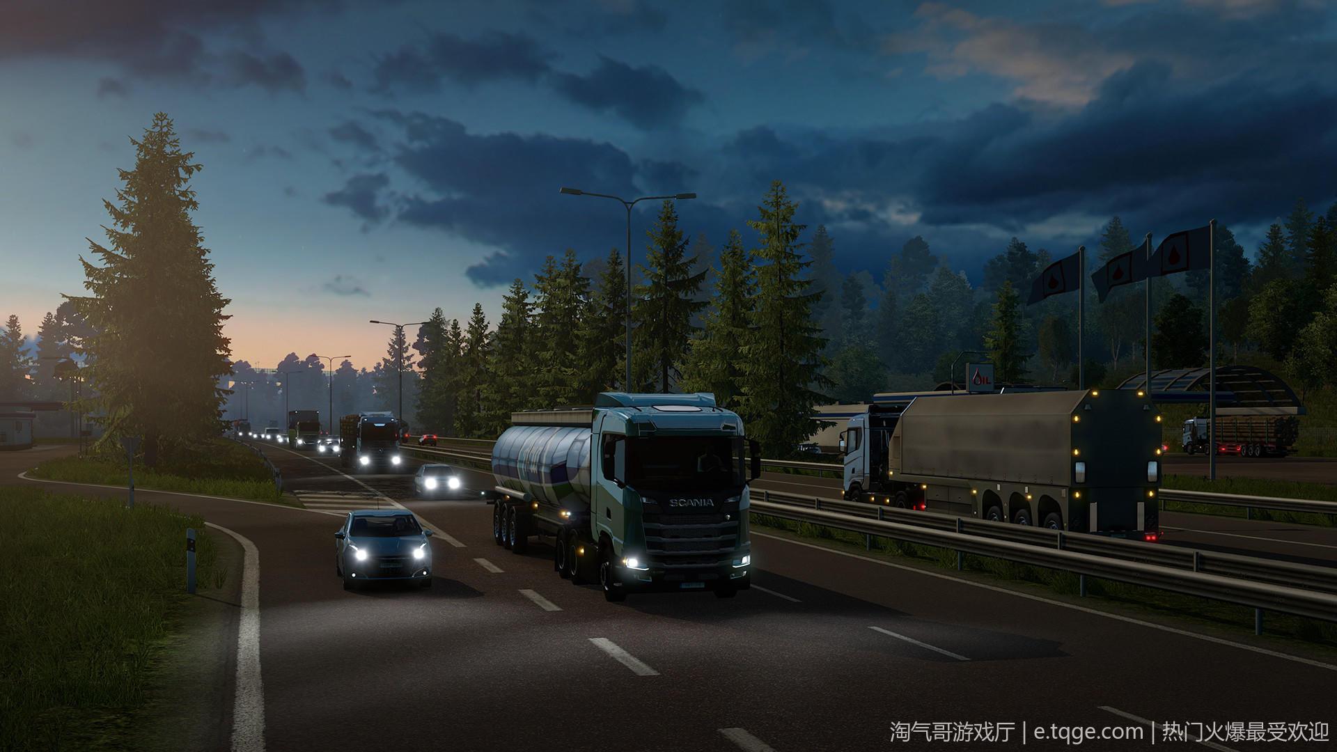 遨游中国2 v1.20稳定版/欧洲模拟卡车2/CTS6 热门游戏 第9张