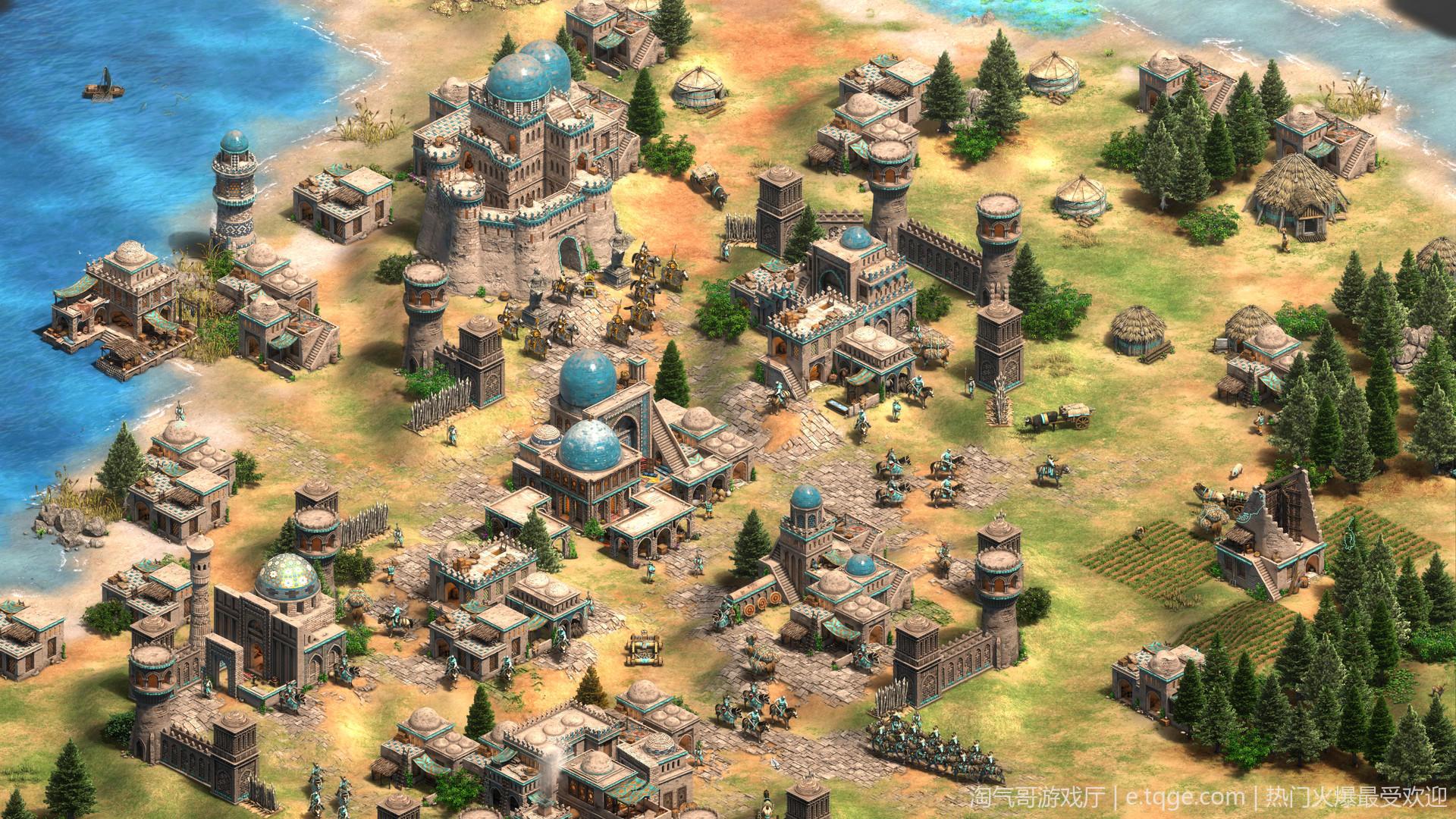 帝国时代2:决定版 即时战略 第3张