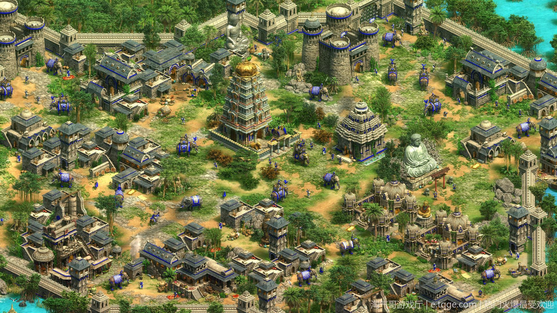 帝国时代2:决定版 即时战略 第4张