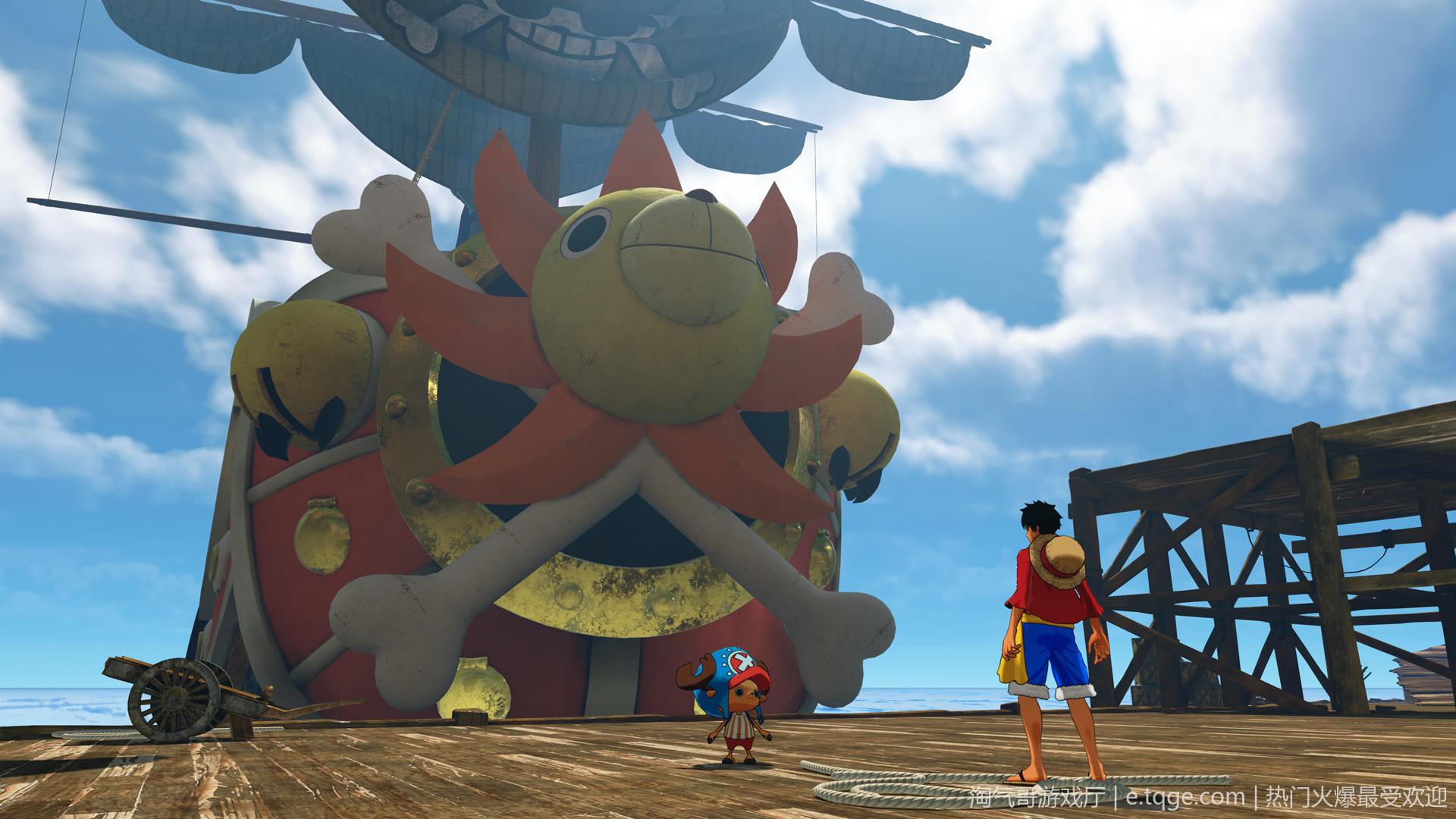 海贼王:世界探索者 格斗游戏 第4张