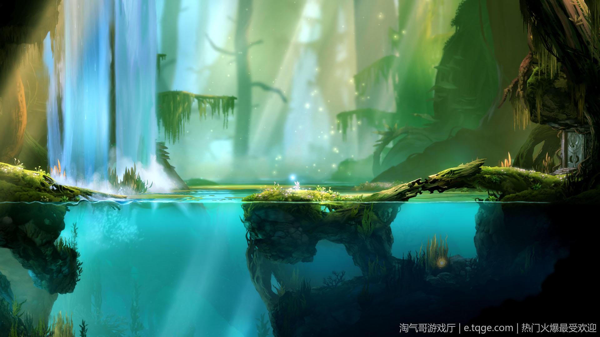 奥日与黑暗森林:终极版/精灵与黑暗森林 动作冒险 第1张
