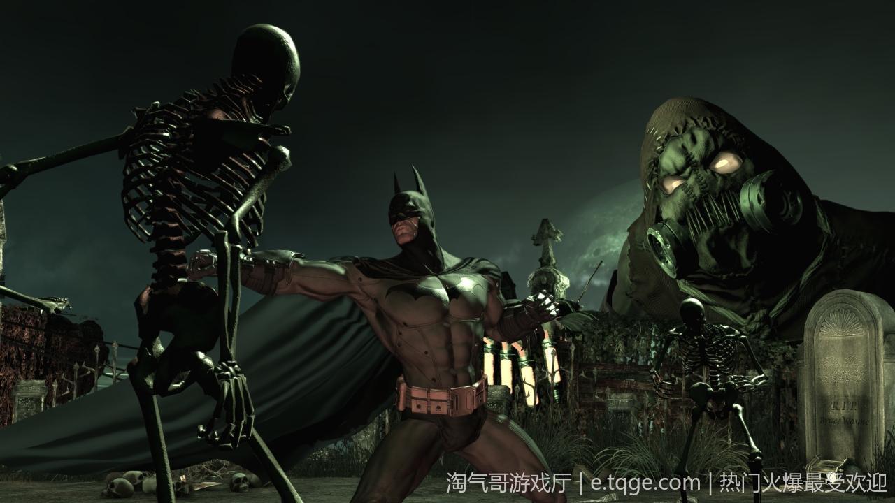 蝙蝠侠之阿卡姆疯人院年度版 动作冒险 第4张
