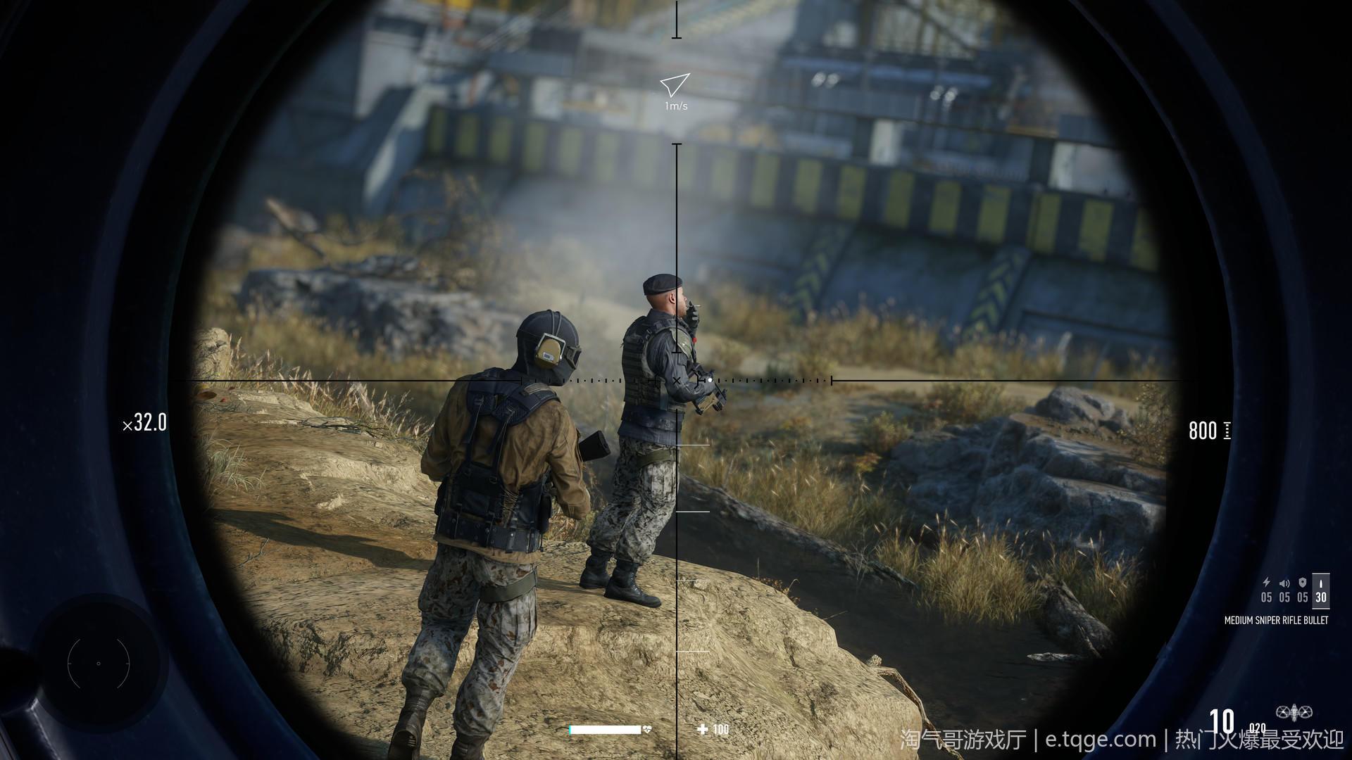狙击手:幽灵战士契约2 射击游戏 第2张