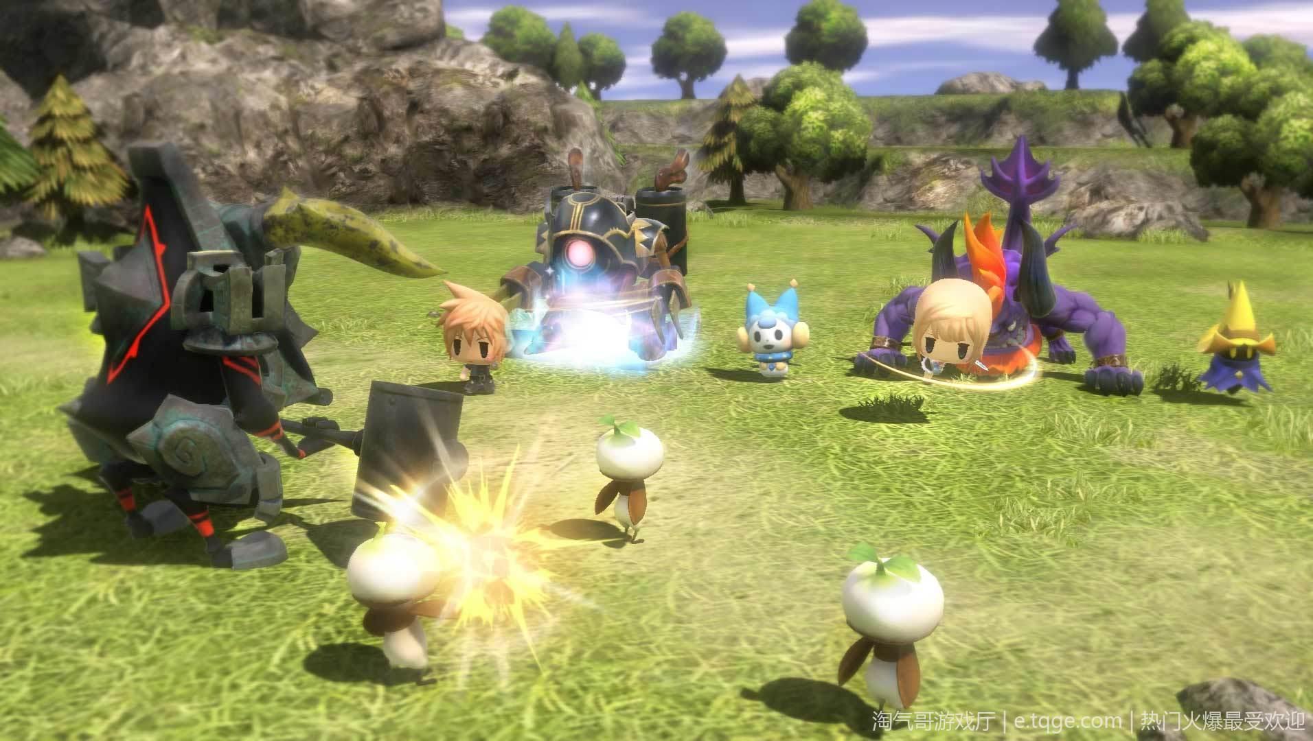 最终幻想 世界 角色扮演 第8张