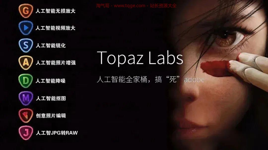 Topaz全家桶-AI图片处理 独立软件 第6张